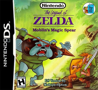 The Legend of Zelda: Molblins Magic Spear ( BR ) [ NDS ]