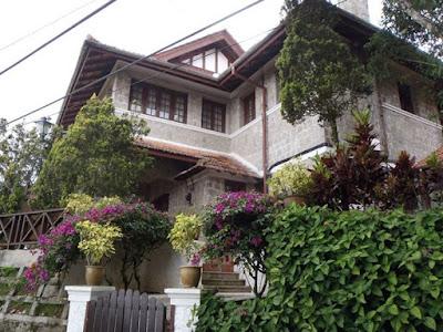 Heritage bungalows at Penang Hill