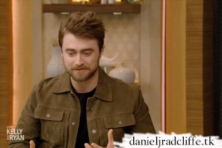 Daniel Radcliffe on Live with Kelly and Ryan