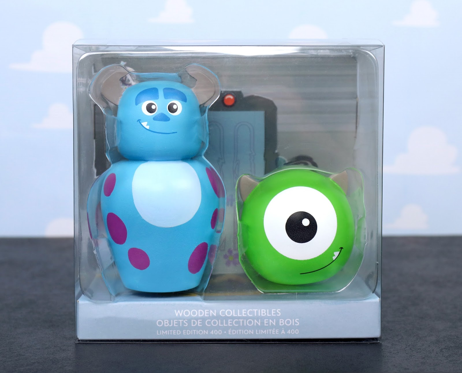 Monsters Inc Mike and Sulley Wooden Collectibles Limited Edition