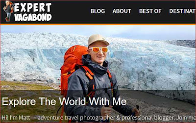 Travel blog by Matt
