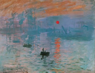 Impression, soleil levant - Claude Monet