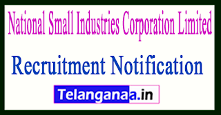 National Small Industries Corporation Limited NSIC Recruitment Notification 2017