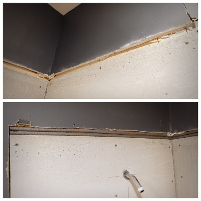 gap filler before after cement board drywall