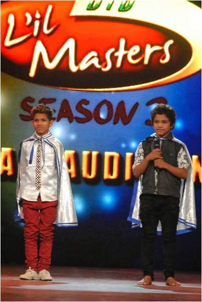 Contestants waiting for result in final audition of DID Li'l Masters Season 3