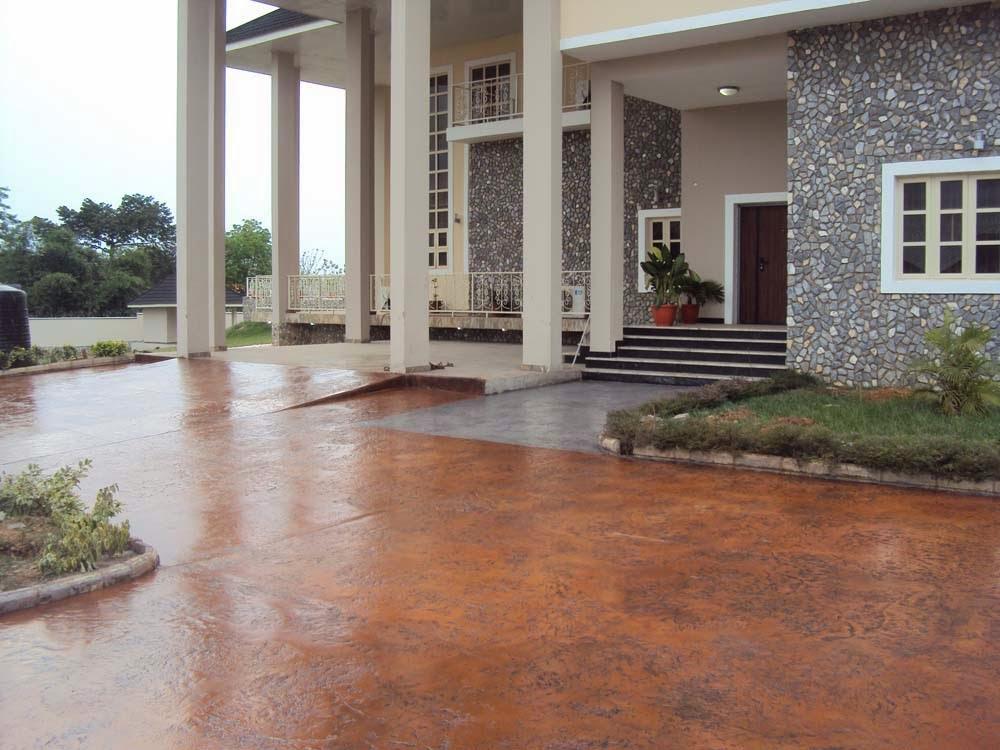 Interlocking Stones Vs Concrete Floor Stamping Enoch