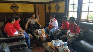 Kapolresta Jambi Terima Kunjungan Kerja DPD PWRI Provinsi Jambi