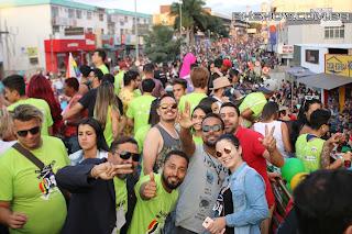 IMG 0074 - 13ª Parada do Orgulho LGBT Contagem reuniu milhares de pessoas