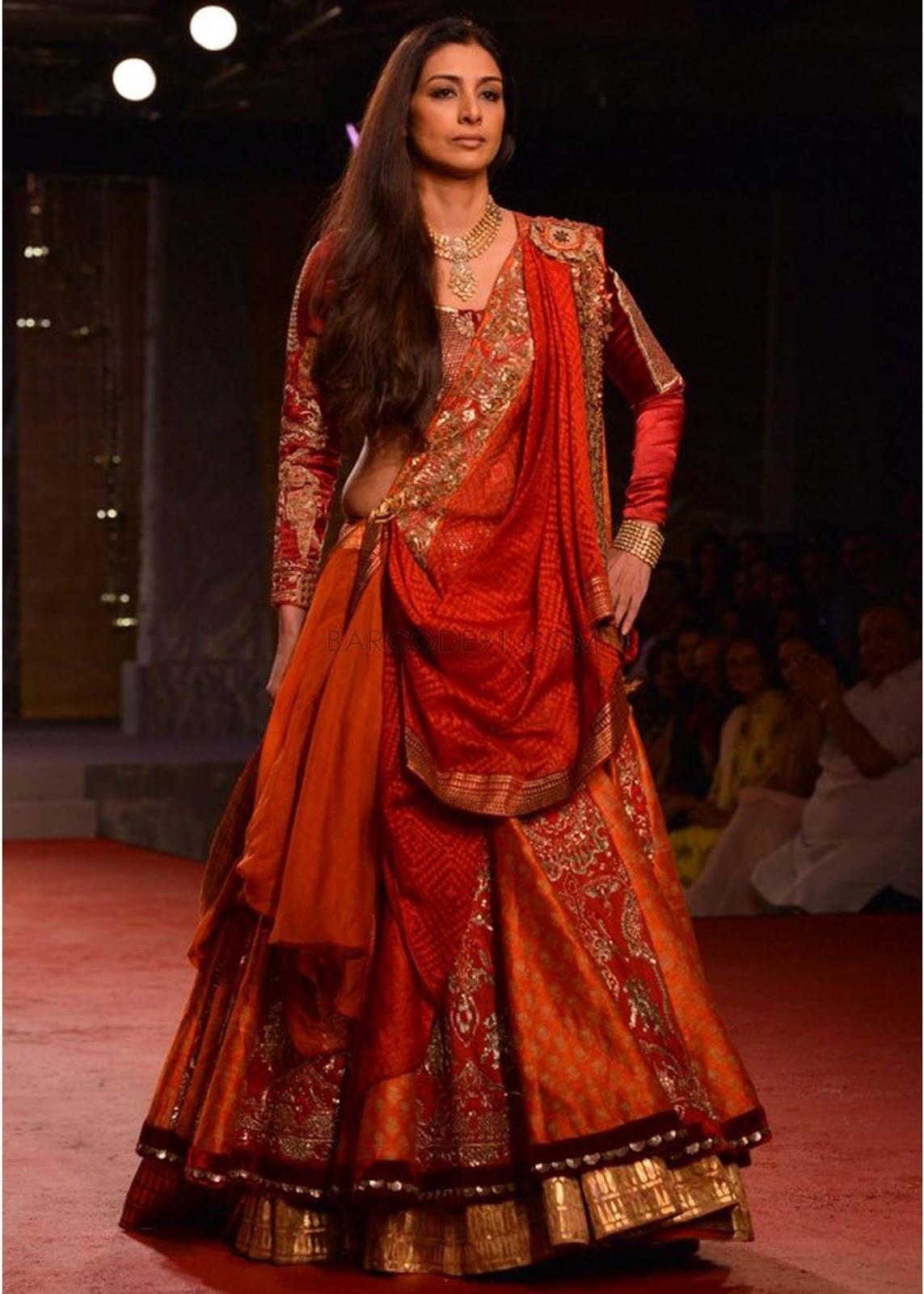 0400533f0b Anju Modi at India Bridal Fashion Week 2013 - Pakistani Fashion ...