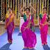 Sexy TV Actress Hina Khan and Kanchi Singh Navel Showing Dance