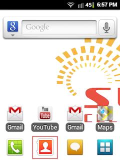 Cara mudah Backup Kontak di Android ke sdcard