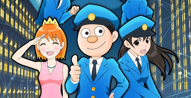 Social Network Service Police Anime To Premiere In 2018.