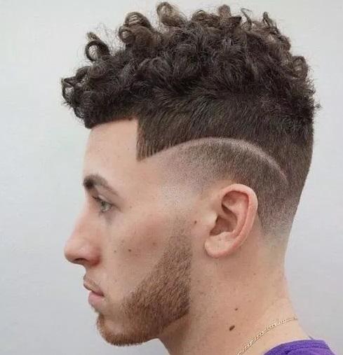 gambar rambut pendek pria terbaru ikal kribo