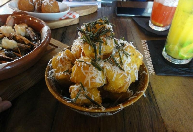Jamie's Italian Markthal homemade polenta chips