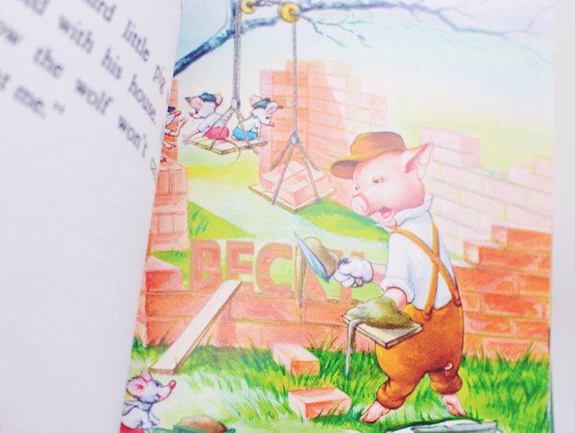 Personalised Ladybird Book Three Little Pigs