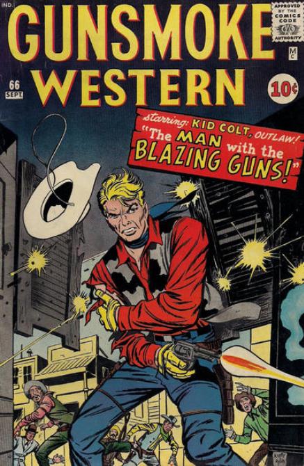 Gunsmoke Western Comics