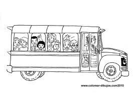 Laminas Para Colorear Coloring Pages El Autobus Magico