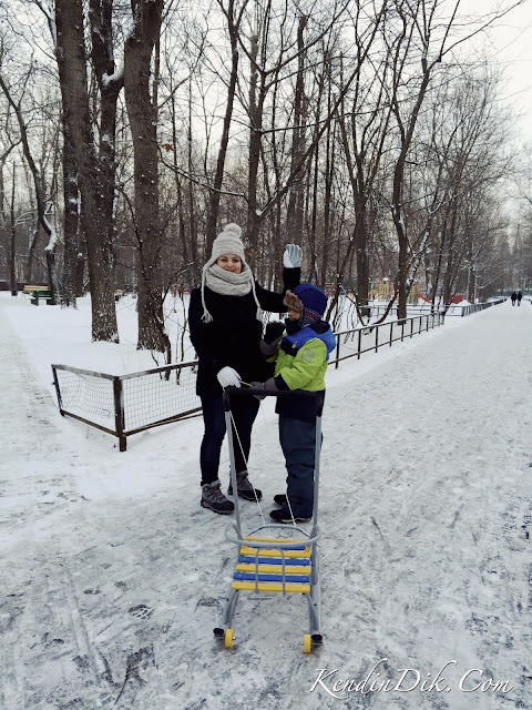 Moskova'da çocuklu hayat