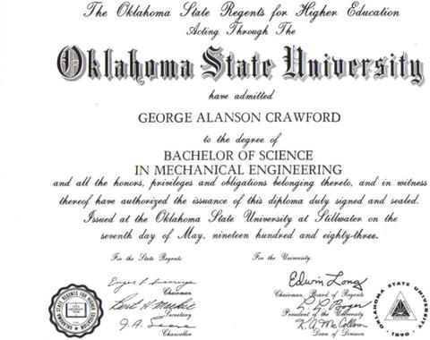 osu 1983- in 4 years, not 1 class a semester for  gpa with fraud precedented