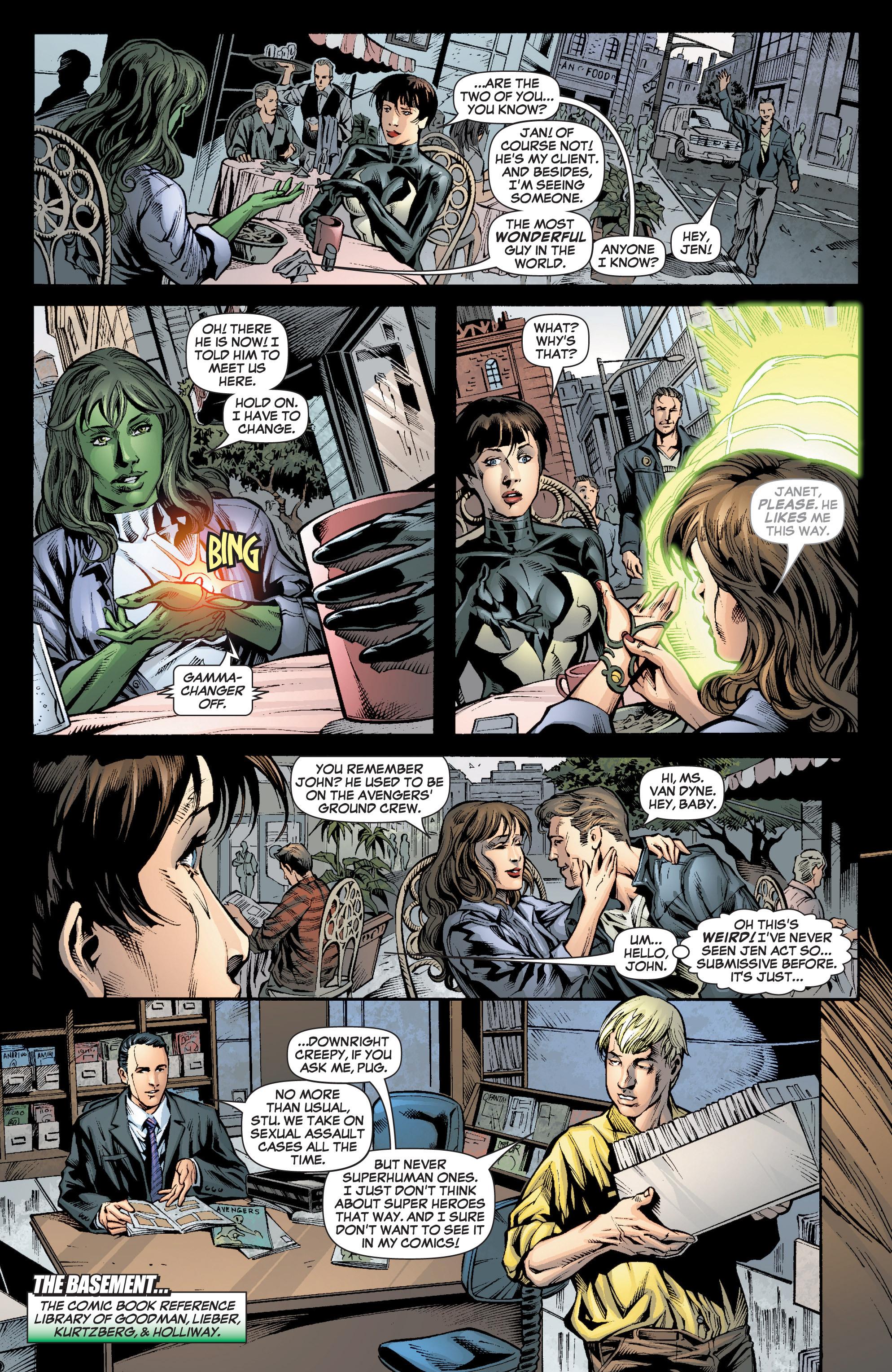 Read online She-Hulk (2005) comic -  Issue #7 - 14