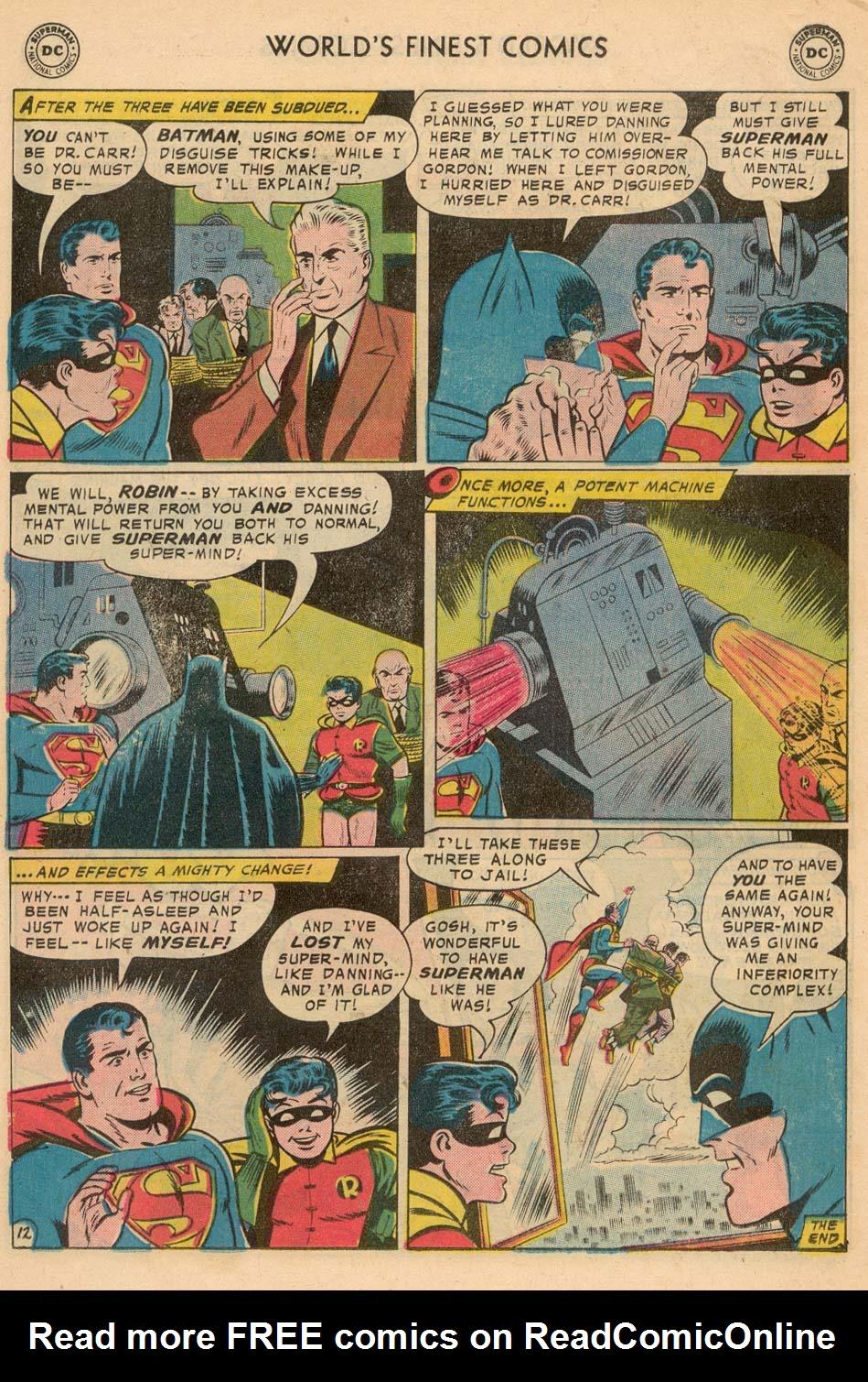 Read online World's Finest Comics comic -  Issue #93 - 14
