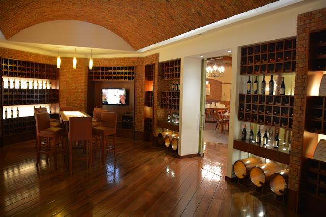 JW Marriott Quito wine bar