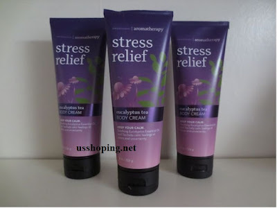 Kem Dưỡng Thể Trị Liệu Stress Relief Eucalyptus Tea 226g