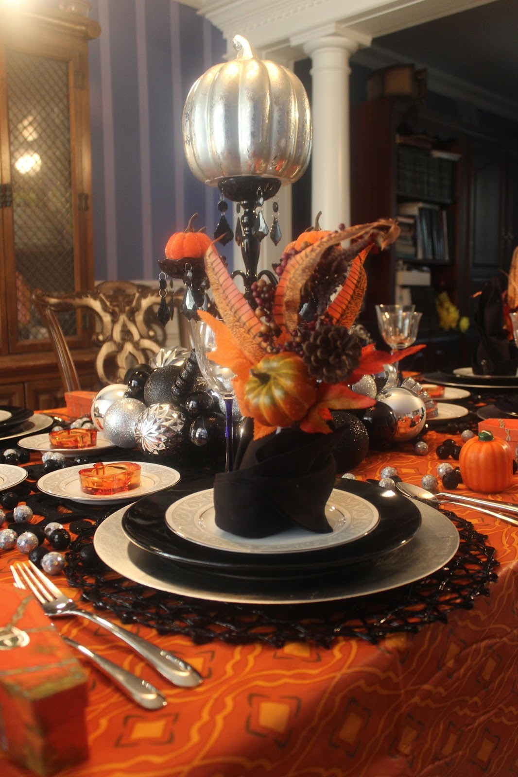 in and out of the house: spooked: a halloween dinner