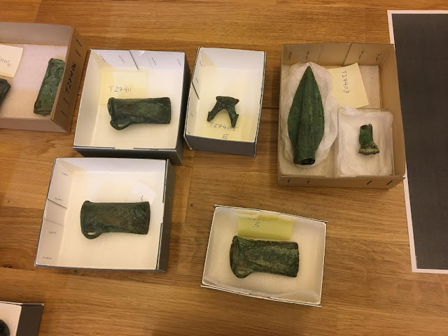 24 Bronze Age axes found in farmer's field in Norway