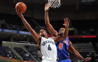 Memphis Grizzlies vs New York Knicks