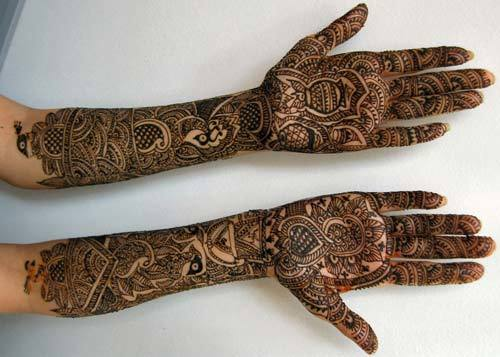 henna designs background