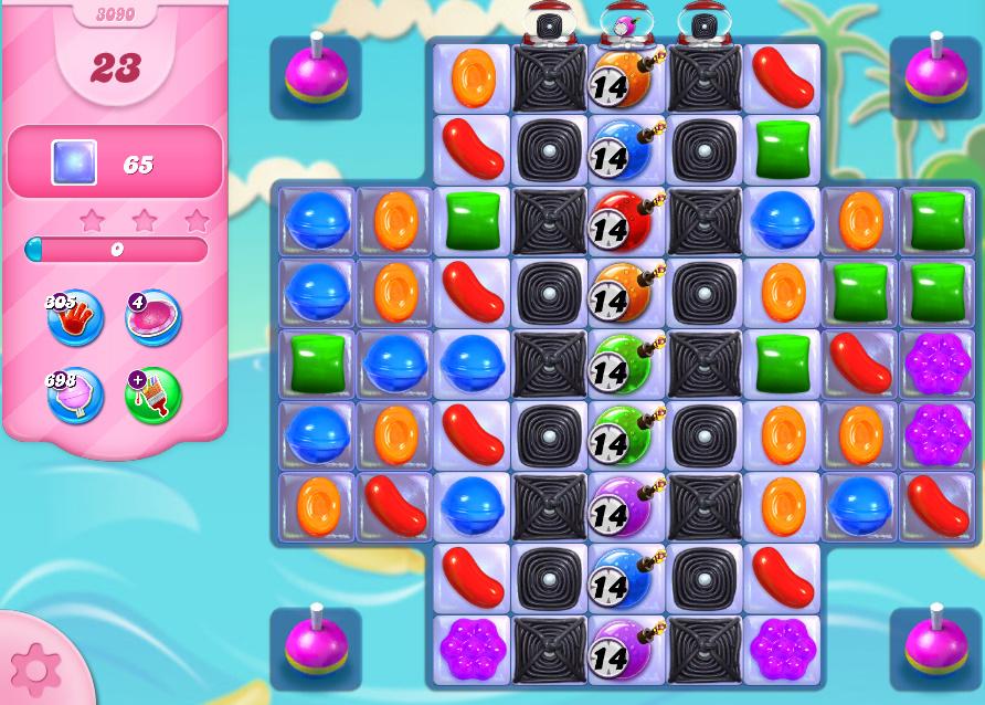 Candy Crush Saga level 3090