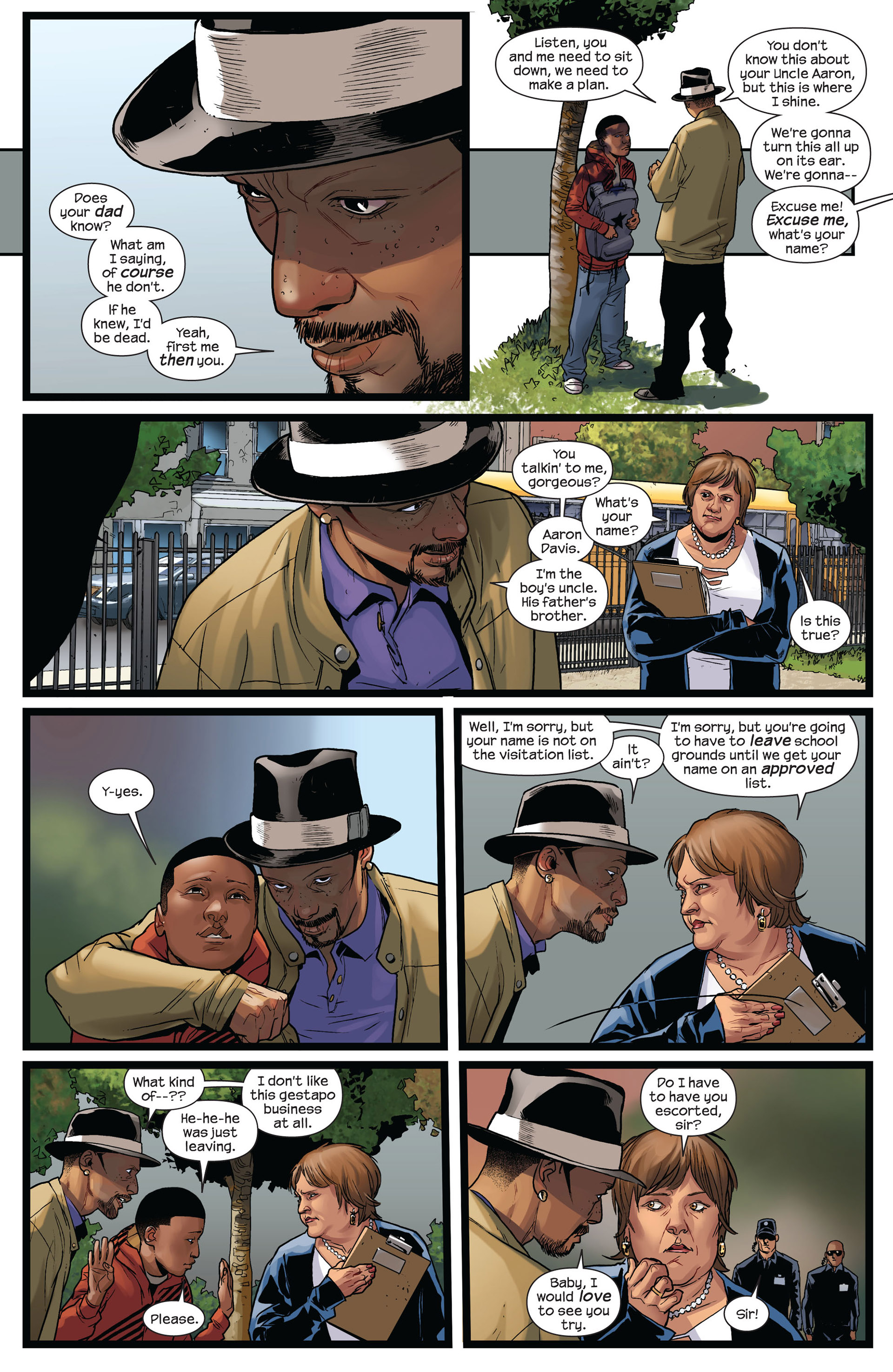 Read online Ultimate Comics Spider-Man (2011) comic -  Issue #8 - 7