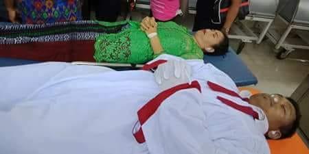 #RIP Jhonson Sitorus, Sintua HKBP Meninggal Bersama Istrinya di Tepi Jalan