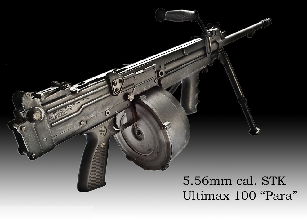 welcome to the world of weapons: Ultimax 100