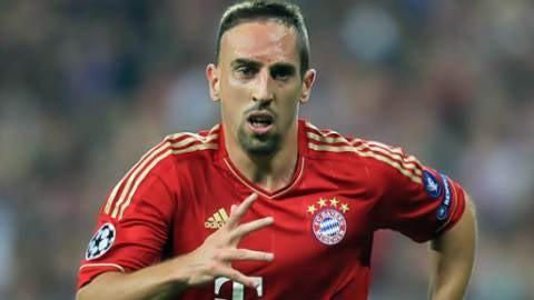 Franck Ribery thực sự đã không còn đủ tỉnh táo và minh mẫn trong những pha bóng nữa.
