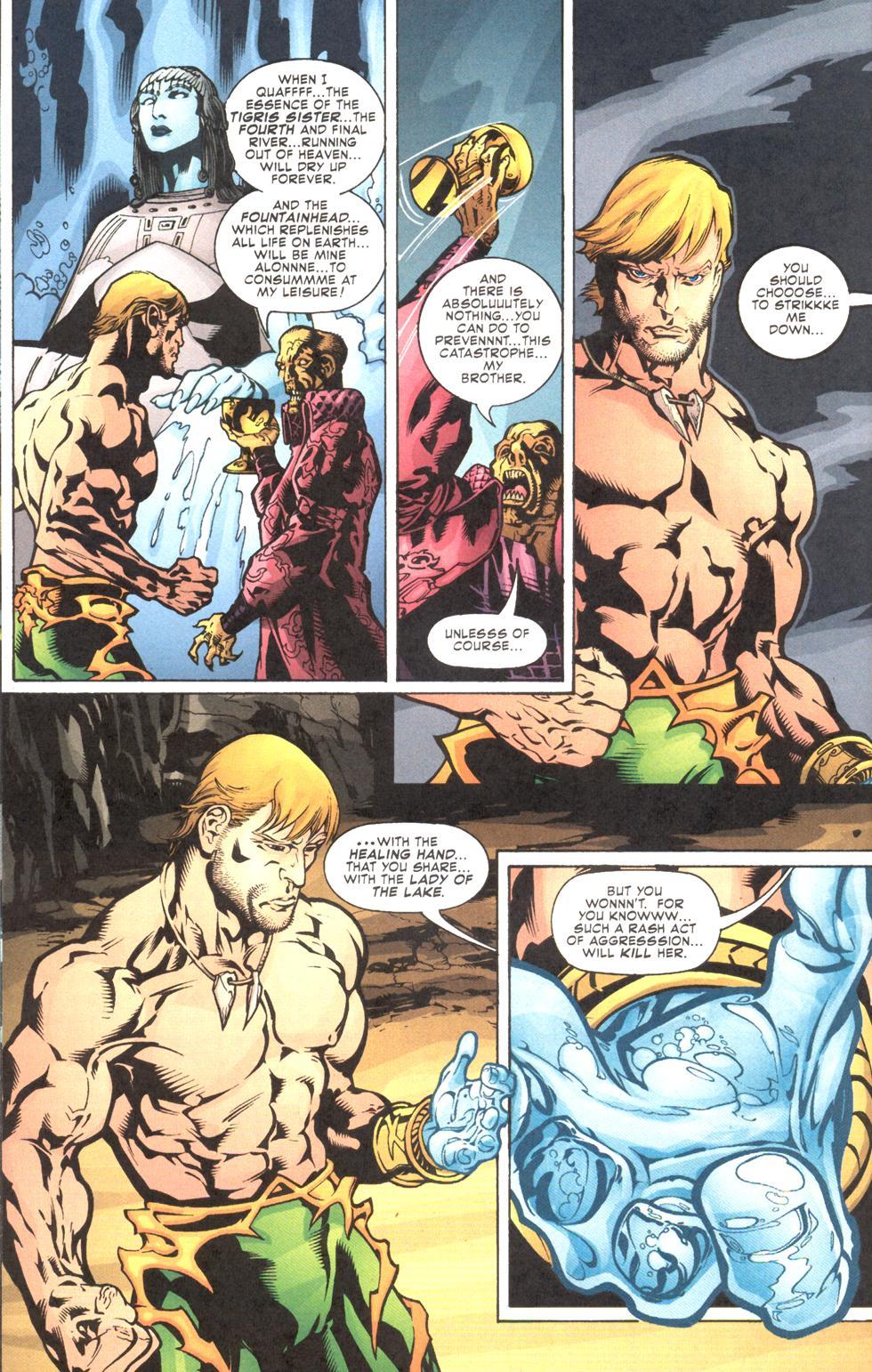 Read online Aquaman (2003) comic -  Issue #11 - 13