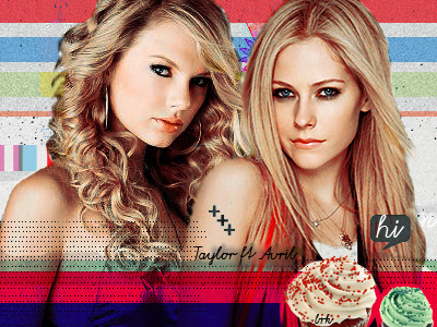 Taylor Swift & Avril Lavigne