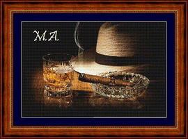 Шляпа и сигара