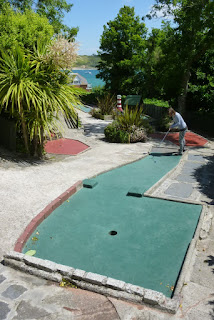 Photo of the Crazy Golf course in Padstow