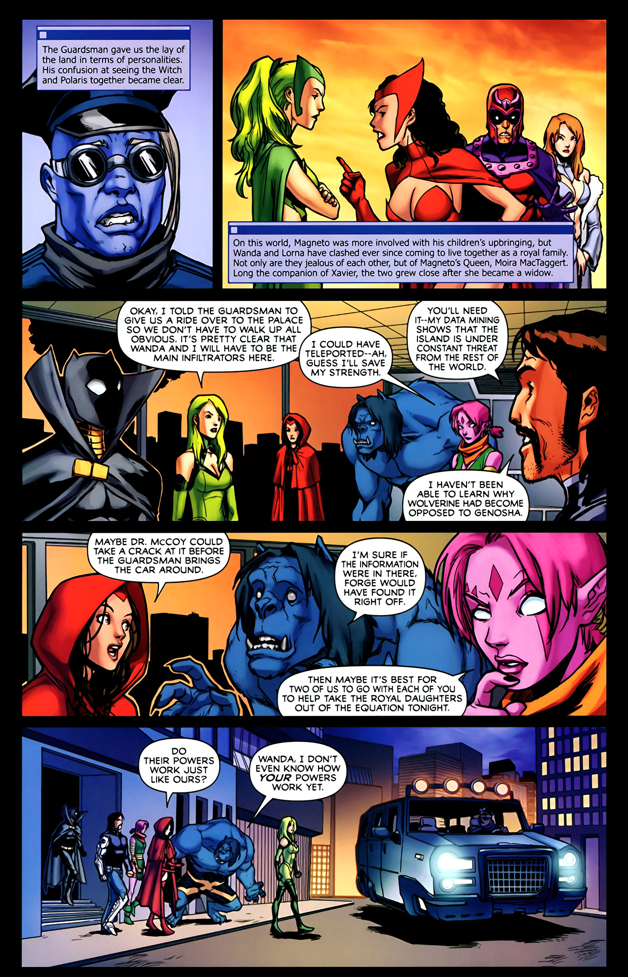 Read online Exiles (2009) comic -  Issue #2 - 10