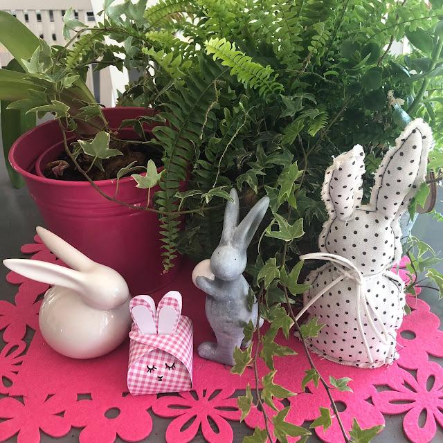 paperlove, falten, cajita de cartón en forma de conejo