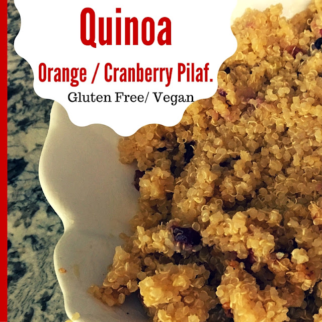 orange juice quinoa
