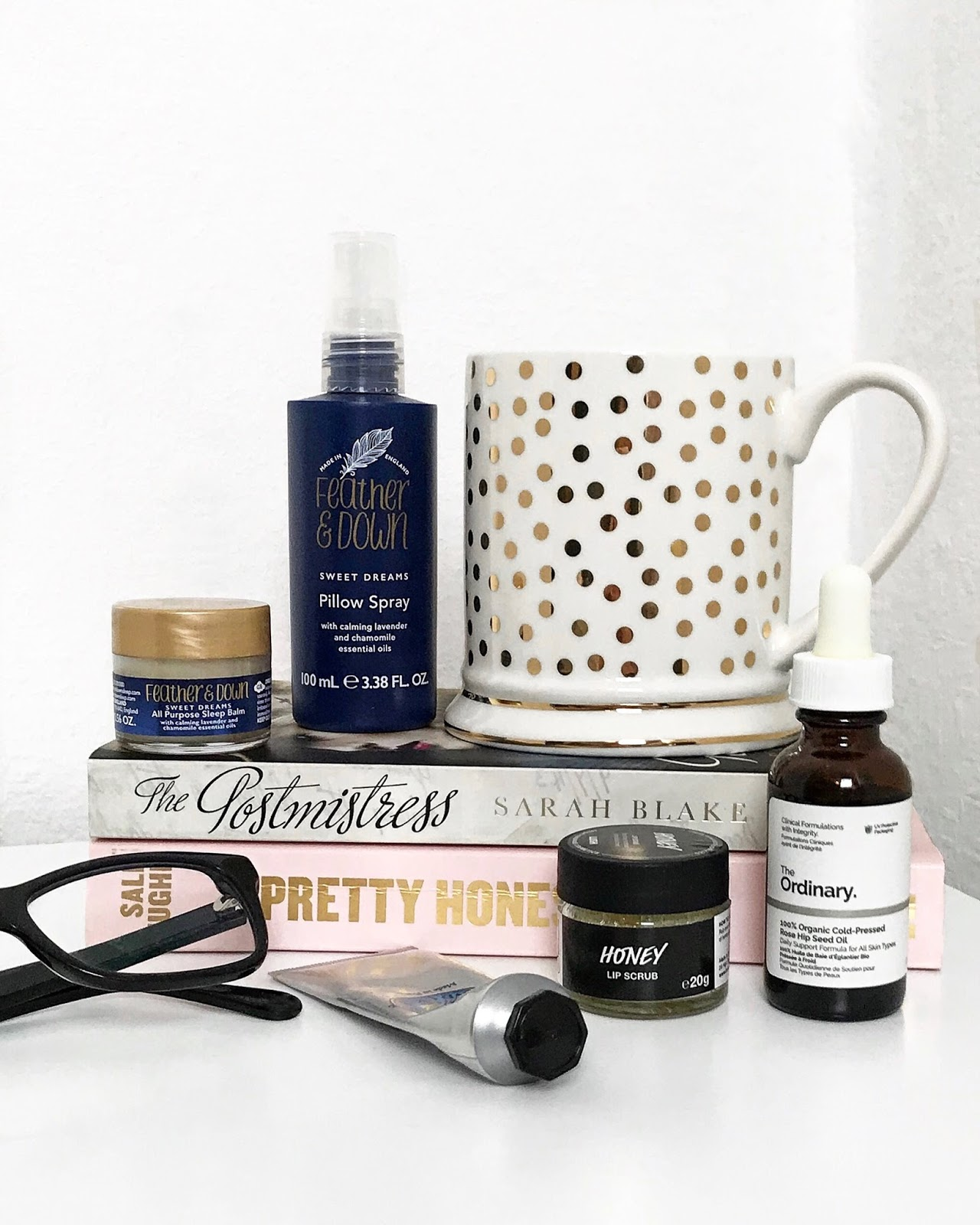 bedside beauty essentials blog post