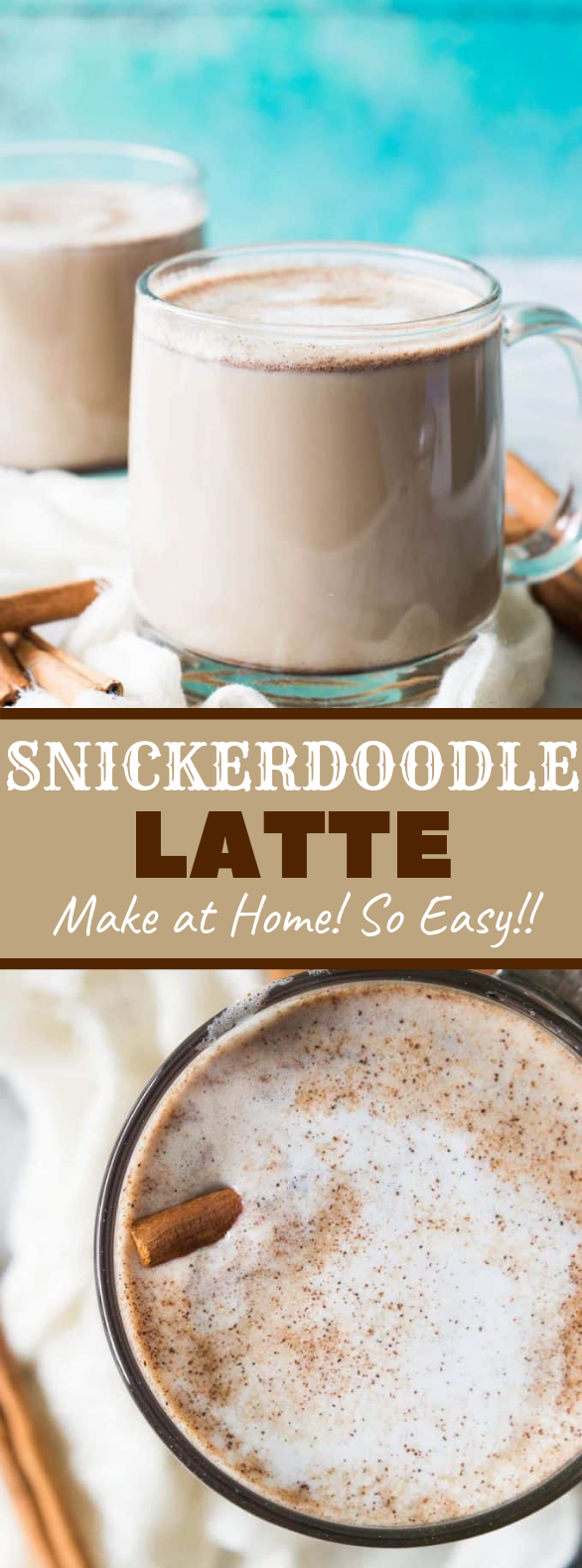 Snickerdoodle Latte #drinks #recipes