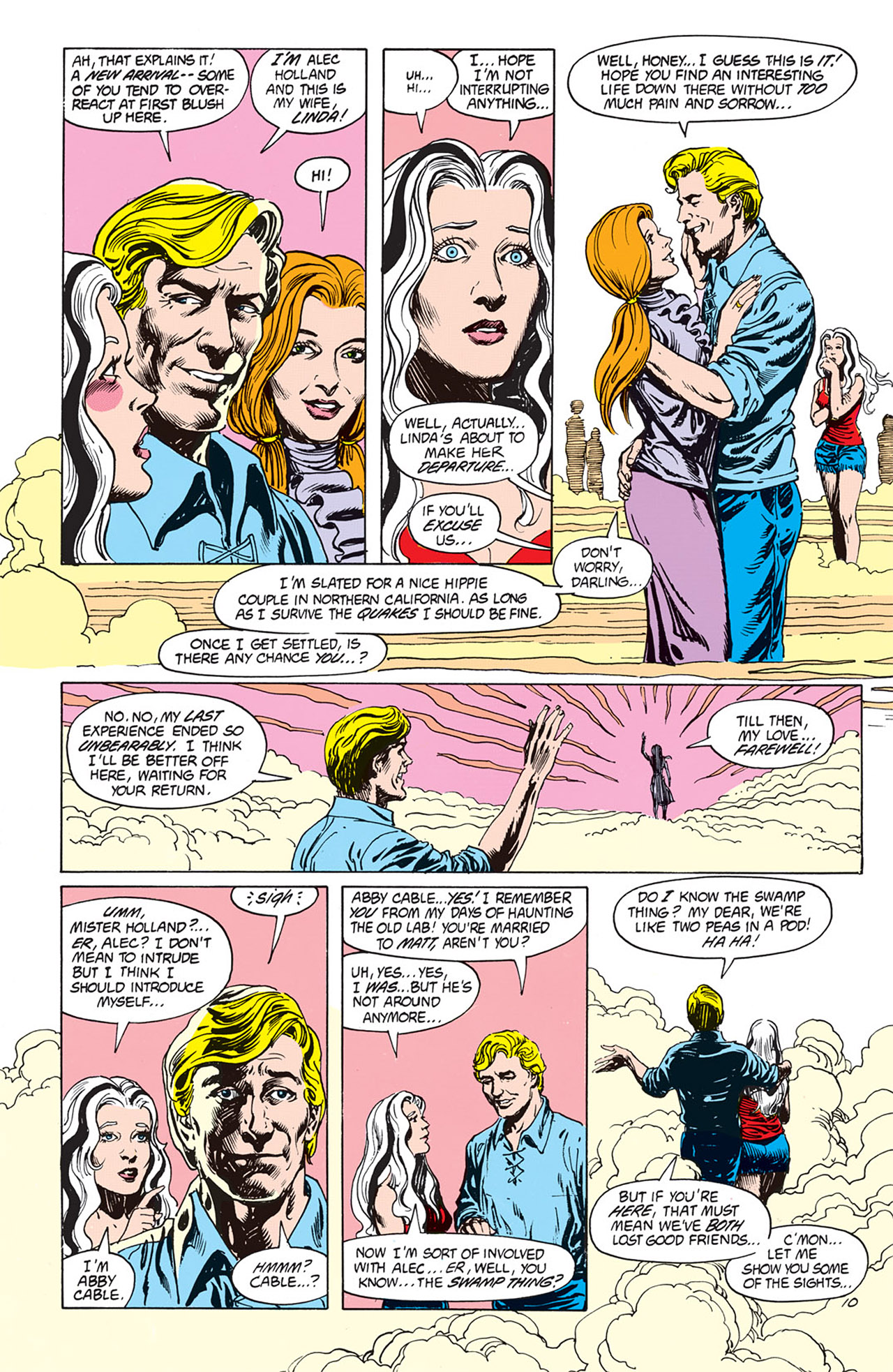 Swamp Thing (1982) Issue #66 #74 - English 10
