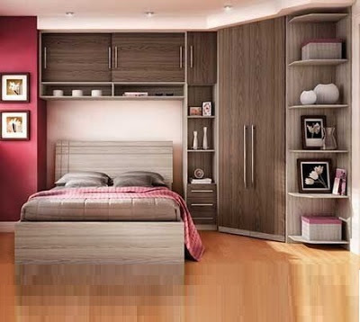 40 Space saving bedroom furniture - Overbed wardrobe design ...