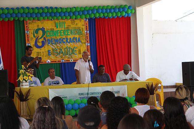 """Com o tema """"Democracia e Saúde"""", 8ª Conferência Municipal é realizada em Delmiro Gouveia"""