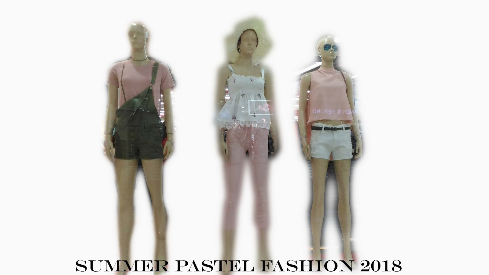 Mall visit for summer pastel fashion 2018