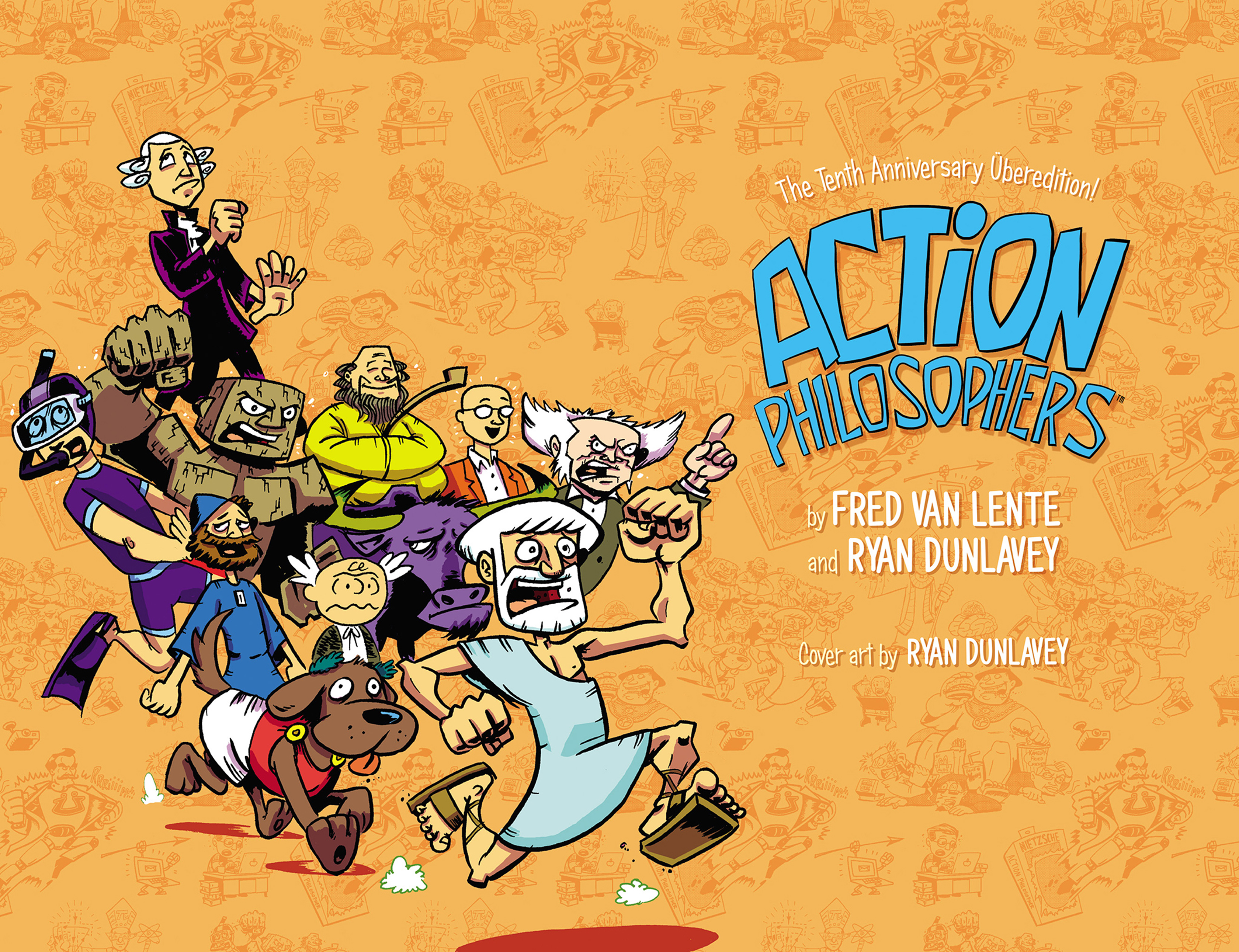 Read online Action Philosophers! comic -  Issue #Action Philosophers! TPB (Part 1) - 3